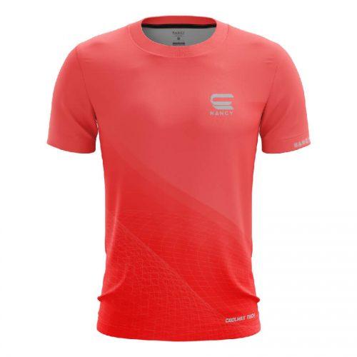 Áo Chạy bộ nam màu đỏ thiết kế RNT007